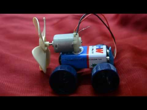 How To make A Electrical Car In 5 Minutes