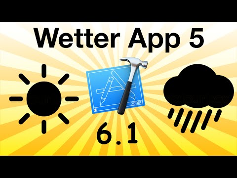 How to make a weather app in Objective-C Part 5