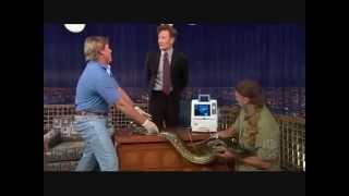 """Steve Irwin on """"Late Night with Conan O"""