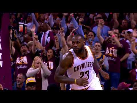 LeBron Brings It Home