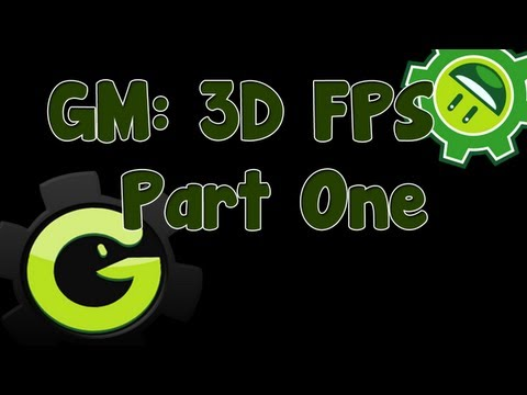 Game Maker 3D FPS Tutorial Part 1