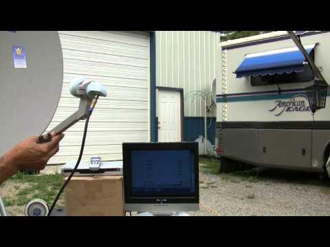 FTA satellite install procedure - How-to install an FTA satellite dish