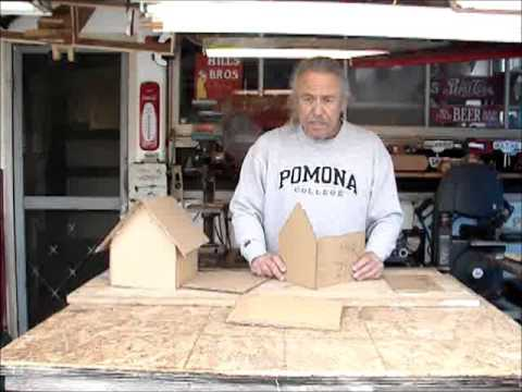 How to make a cardboard house from Scrappy Toys
