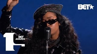 """H.E.R & YBN Cordae Perform an Eye Opening & Evocative """"Lord Is Coming"""" 