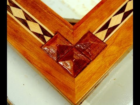 Woodworking - How to Inlay Wood Pyramids