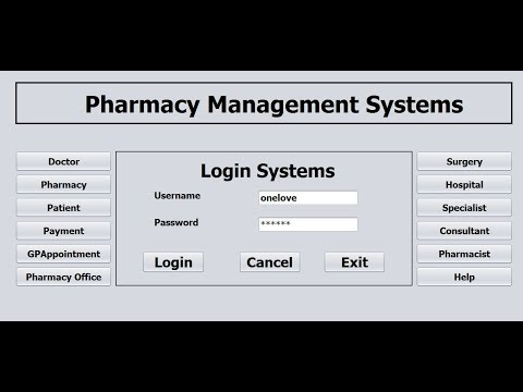 How to Create Pharmacy Management System in Java NetBeans - Part 1 of 3
