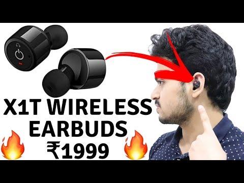 X1T wireless Earbuds | Best wireless Earbuds | Sports wireless Earbuds | Tech Unboxing 🔥