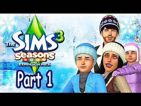 Let's Play: The Sims 3 Seasons - (Part 1) - Create A Sim