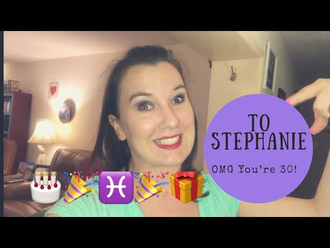 Happy Birthday Stephanie!!!