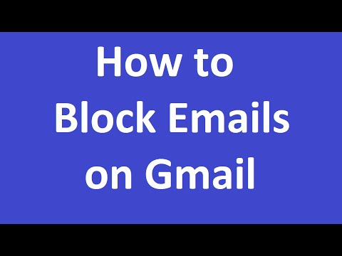 How to Block Emails On Gmail?