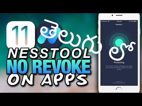 Nesstool - STOP TUTU APP & Other Apps (REVOKES/CRASHING) FIX iOS 9/10/11-11.2 (How to Do? in Telugu)