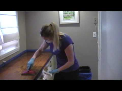 How To Refinish a Wood Countertop with Waterlox