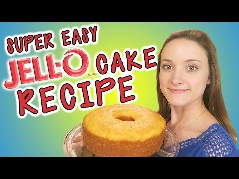 Super Easy Jello Pound Cake Recipe