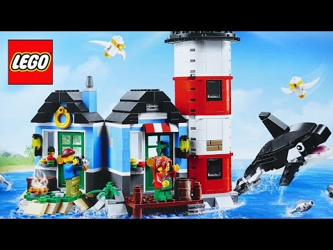 LEGO Creator 3in1 Lighthouse Point 31051 Stop Motion Build