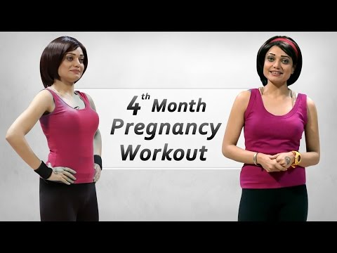 4 Month Pregnancy Workout | Week 13-16