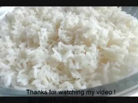 How to Make Perfect Rice in Microwave (oven)