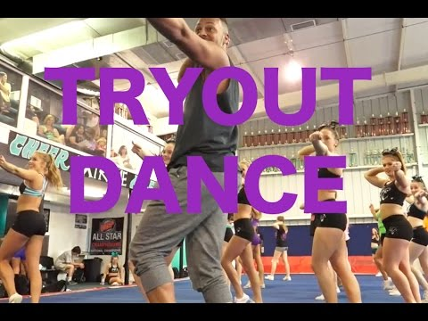 Cheer Extreme Tryout Dance 2015