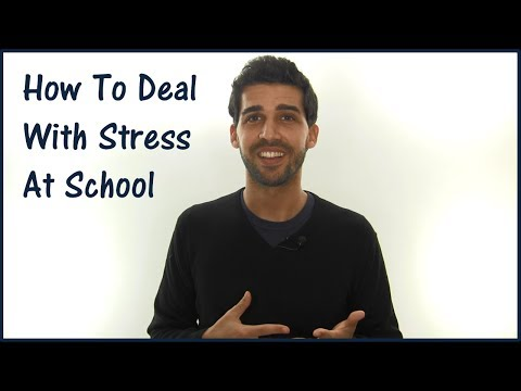 How To Deal With Stress At School