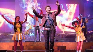 """""""Guardians of the Galaxy – Awesome Mix Live!"""" stage show HIGHLIGHTS at Epcot, Walt Disney World"""
