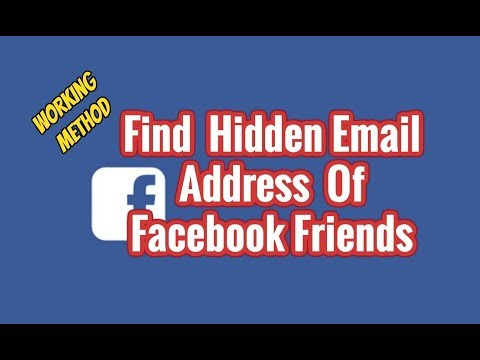 Find Email of All Facebook friend using FST Premium free