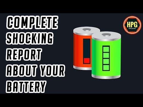 How to Check Laptop Battery Health | Battery Health Check