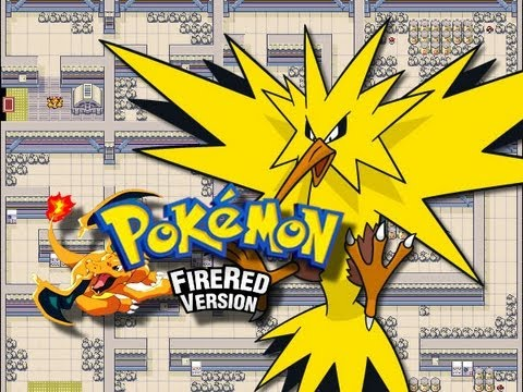 Pokemon FireRed - Power Plant - (Catching Zapdos) - Part 2/2 - (GBA)