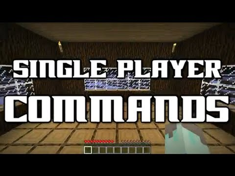 Minecraft 1.5.2/1.6.2 - Como instalar Single Player Commands