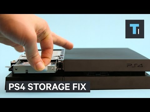 Get more storage on your PlayStation 4