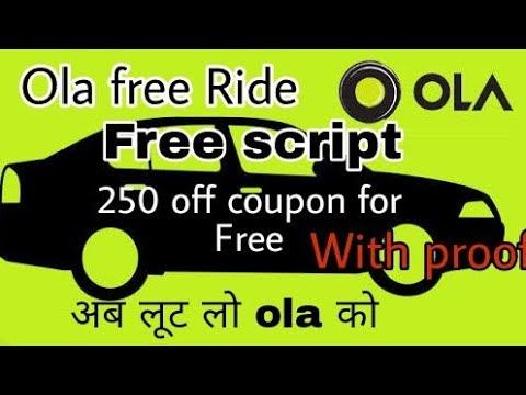 Ola 250 off script for free || free coupon ola|| Paytm Hero