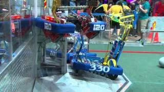SF1M2   FIRST Championship Einstein Field