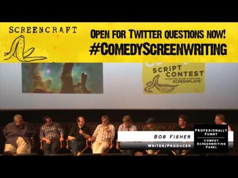 Writing Alone vs a Writers Room: Comedy Screenwriting Panel