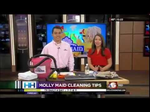 Molly Maid Shares Spring Cleaning Tips on KTAL TV