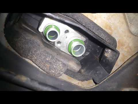 2008 Mazda 6 expansion valve replacement