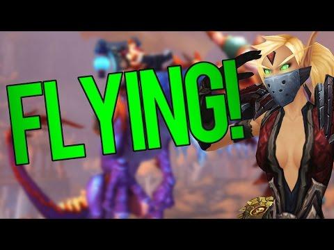I Missed Flying In Legion
