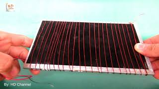 How to make free energy solar system - Homemade solar projects easy work 100%