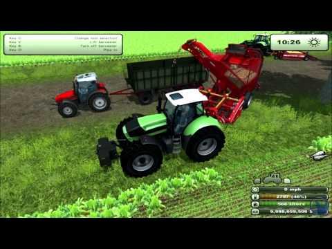 Farming Simulator 2013: How to farm. Potatoes & Sugar Beets. (Tutorial. 8/9)