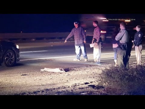 Whitewater: Vehicle Hits Pedestrian on Westbound I-10