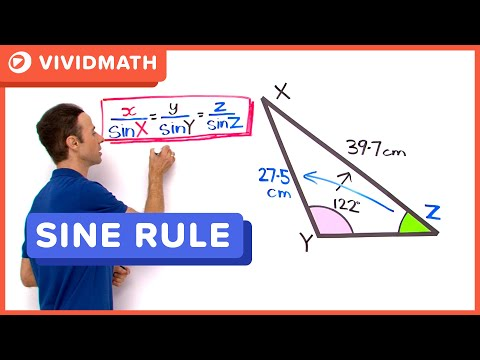 Finding Angles Using The Sine Rule
