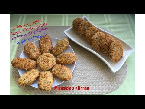 Russian Chicken Cutlets | INSTANT POT to cook potatoes and chicken | Mumtaz Hasham