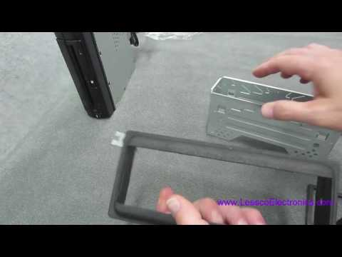 How to mount your car stereo in a dash kit