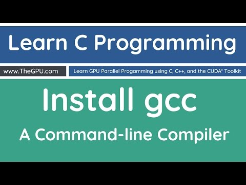 Learn C Programming - Installing a C Compiler
