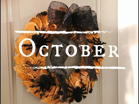 Quick Jc Frias ProTip on repurposing your Wreath into a Halloween Wreath!