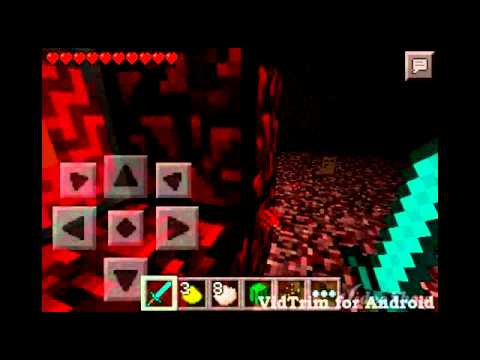 Minecraft Pocket Edition Nether'a Gitmek