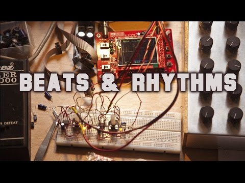 Beats and rhythms with a Matrix Mixer and two oscillators