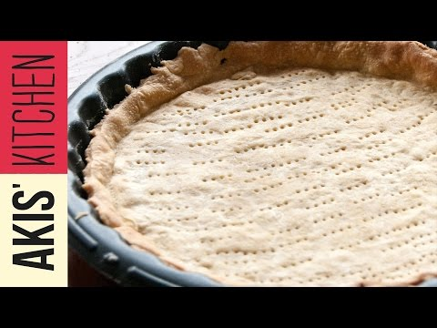 Savory Tart Dough | Akis Kitchen