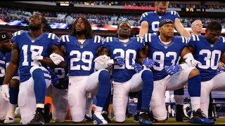 NFL Players Kneeling During National Anthem