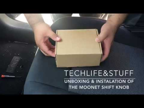 Unboxing and Installation of the Moonet Shift Knob