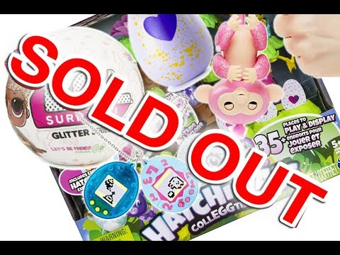Earliest Toys that Sold Out in 2017 - 200% Mark Ups!!!!! Pink Glitter Fingerlings