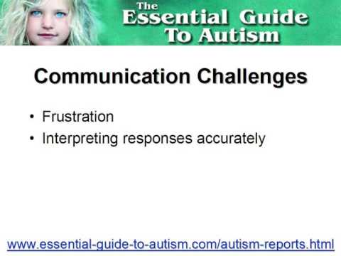 Making autism communication easy - Are you getting throug...
