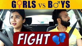 Girls vs Boys After A Fight Ft. BeYouNick | MostlySane